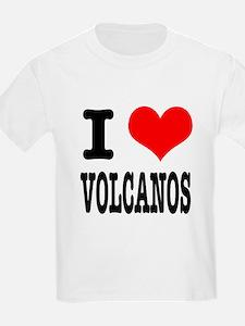 I Heart (Love) Volcanos T-Shirt