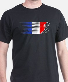 Athletics Runner - France T-Shirt
