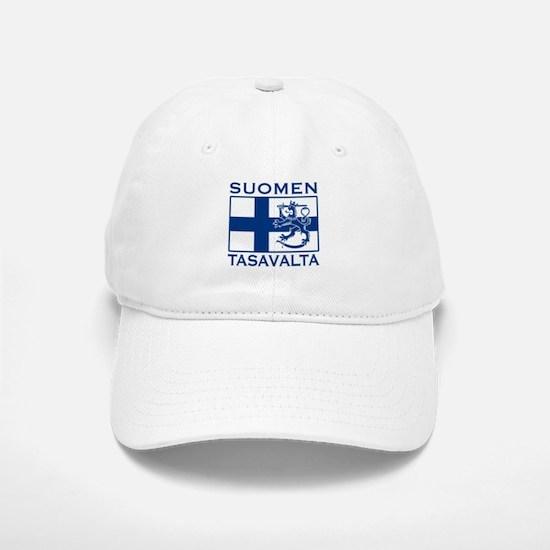 Suomen Tasavalta Baseball Baseball Cap