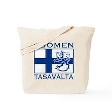 Suomen Tasavalta Tote Bag
