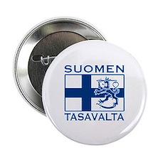 """Suomen Tasavalta 2.25"""" Button"""