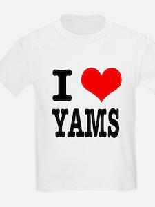 I Heart (Love) Yams T-Shirt