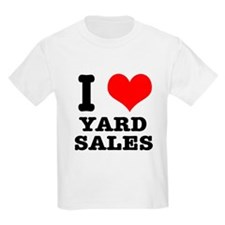I Heart (Love) Yard Sales T-Shirt