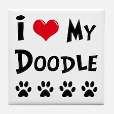 My Dog Rulez! Tile Coaster