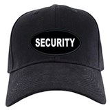 Security Baseball Cap with Patch