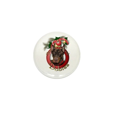 Christmas - Deck the Halls - Mini Button (10 pack)