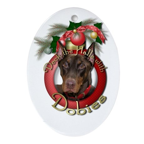 Christmas - Deck the Halls - Ornament (Oval)