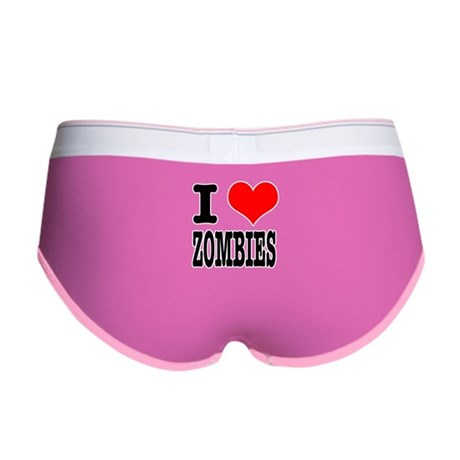 I Heart (Love) Zombies Women's Boy Brief