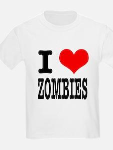 I Heart (Love) Zombies T-Shirt