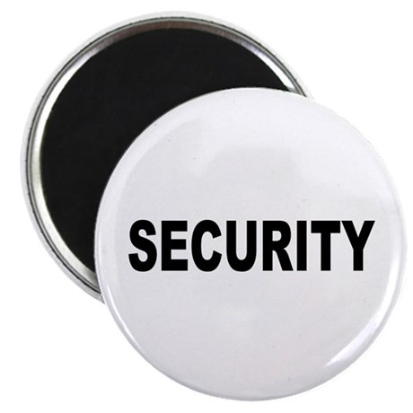 "Security 2.25"" Magnet (10 pack)"