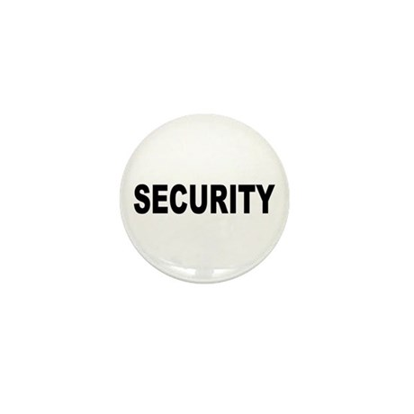 Security Mini Button (100 pack)