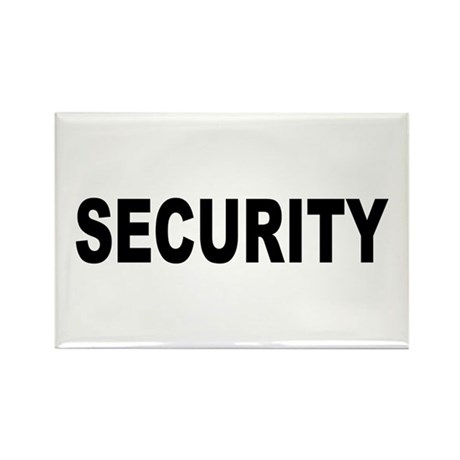 Security Rectangle Magnet (100 pack)
