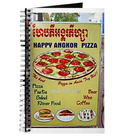 Happy Pizza Sign Journal
