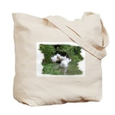 DUCKS IN THE POND Tote Bag