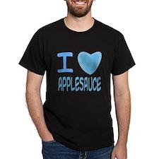 Blue I Heart (Love) Applesauc T-Shirt