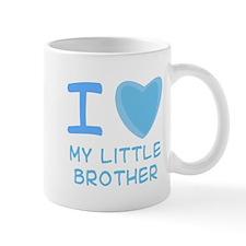 Blue I Heart (Love) My Little Mug