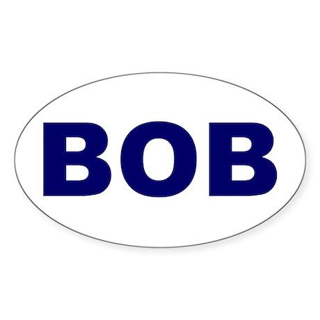 Bob Oval Sticker