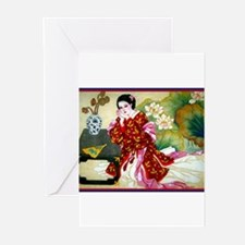 Cute Geisha Greeting Cards (Pk of 20)
