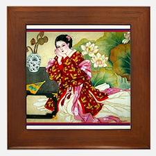Unique China Framed Tile
