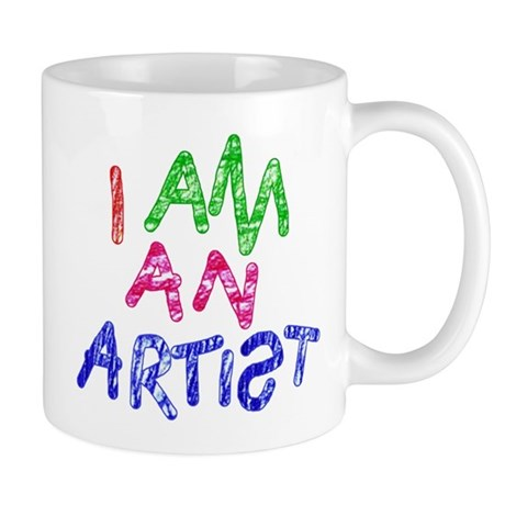 'I Am An Artist' Mug
