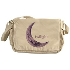 Twilight Quarter Moon Messenger Bag
