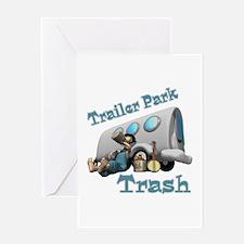 Trailer Park Trash Design Greeting Card