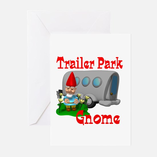 Trailer Park Gnome Greeting Cards (Pk of 20)