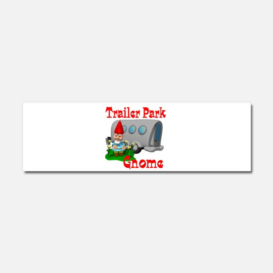 Trailer Park Gnome Car Magnet 10 x 3