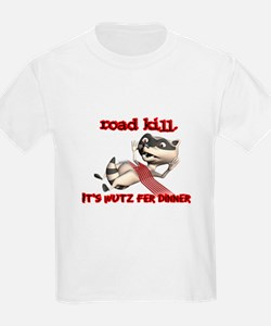 Racoon Road Kill for Dinner T-Shirt