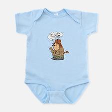 Redneck Possum' Hunter Infant Bodysuit