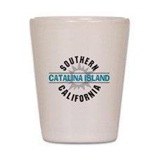 Catalina Island California Shot Glass