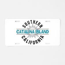 Catalina Island California Aluminum License Plate