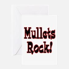 Mullets Rock! Design Greeting Card