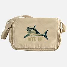 Bite Me Shark Messenger Bag