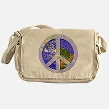 Peace On Earth Messenger Bag