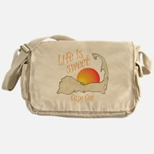 Life is Sweet Cape Cod Messenger Bag