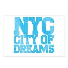 NYC City of Dreams Postcards (Package of 8)