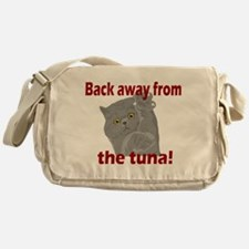 Back Away From the Tuna Messenger Bag