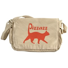Pizzazz Cat Messenger Bag