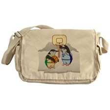 Penguin Basketball Messenger Bag