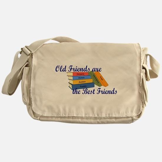 Books Best Friends Messenger Bag