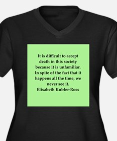 elisabeth kubler ross quotes Women's Plus Size V-N