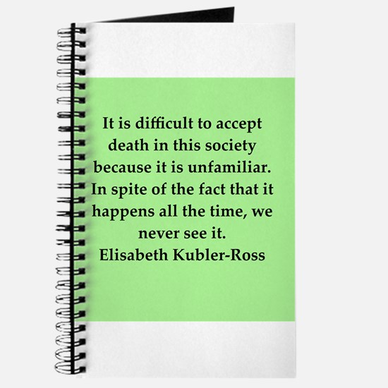 elisabeth kubler ross quotes Journal