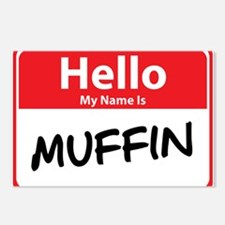 Hello My Name is Muffin Postcards (Package of 8)