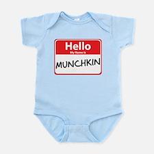 Hello My Name is Munchkin Infant Bodysuit