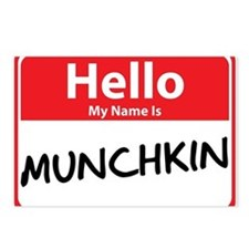 Hello My Name is Munchkin Postcards (Package of 8)