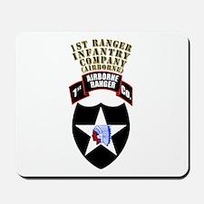 SOF - 1st Ranger Infantry Co - Abn Mousepad