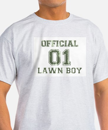 Lawn Boy Ash Grey T-Shirt