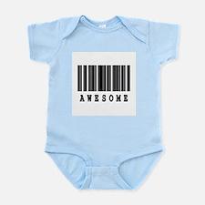 Awesome Barcode Design Infant Bodysuit
