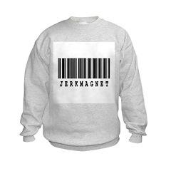 Jerk Magnet Barcode Design Sweatshirt
